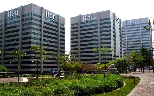 Fachada prédios Banco Itaú